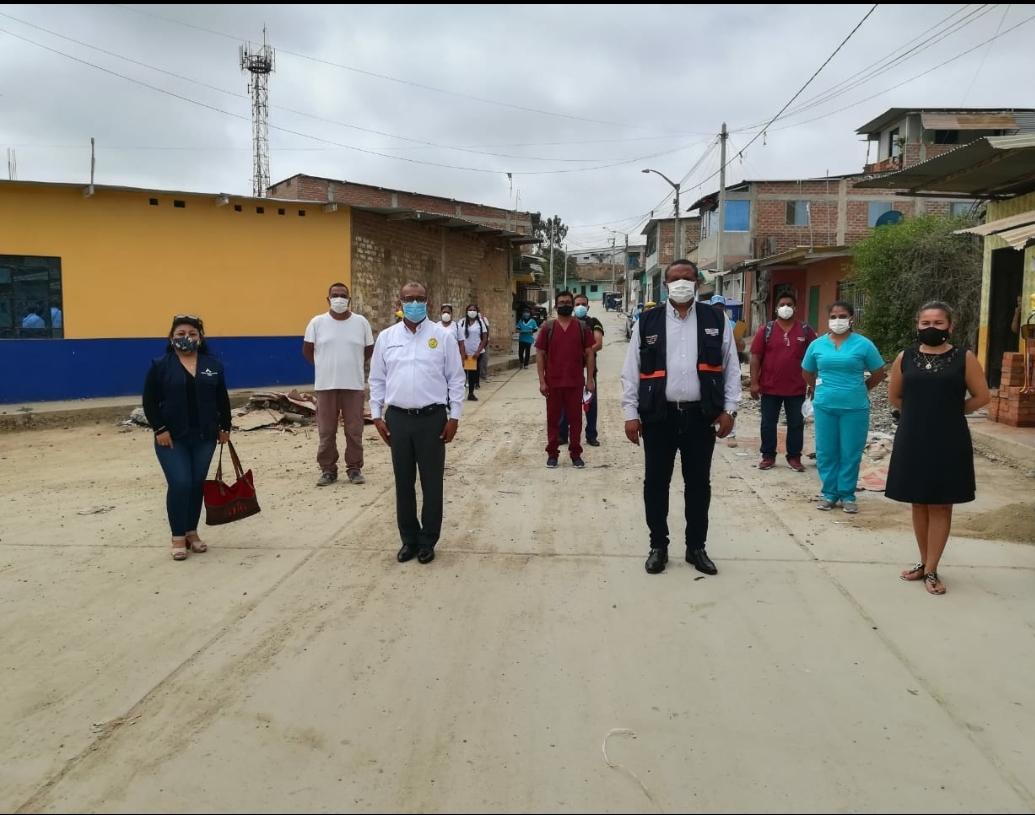 Gobierno Regional realiza jornadas de bloqueo masivo farmacológico de Covid-19 en Pampa Grande