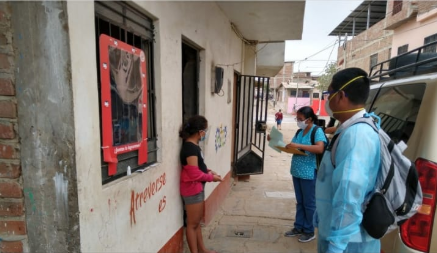 Gobierno Regional identifica 241 casos sospechosos y 75 positivos de Covid-19 durante visitas del bloqueo masivo farmacológico
