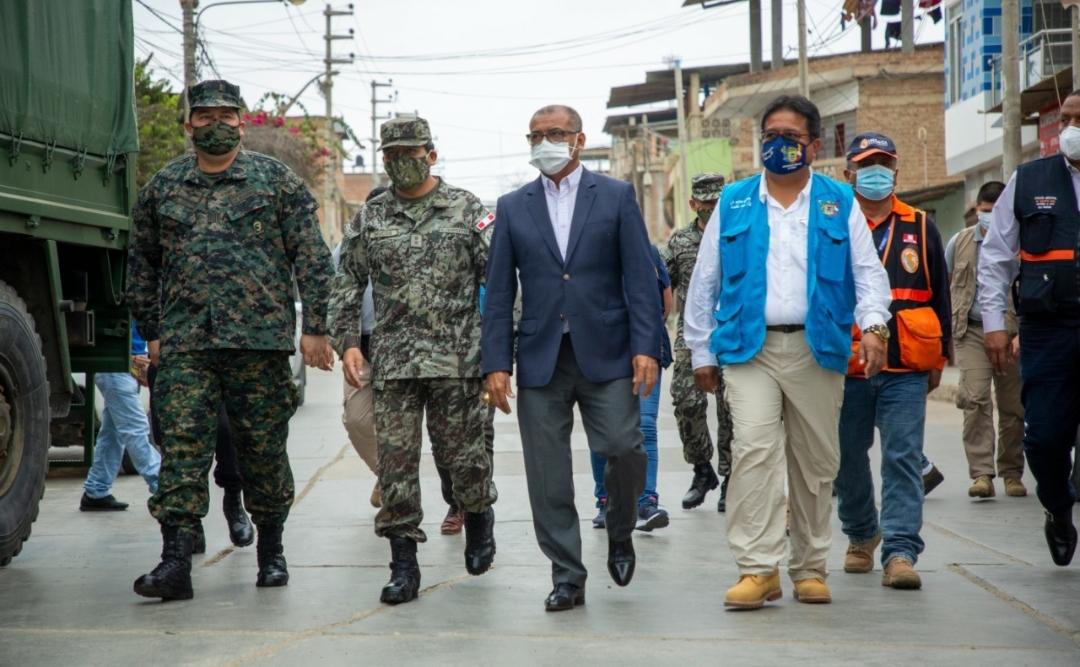 En Tumbes se realiza Operación TAYTA para proteger a la población vulnerable ante COVID-19 en tres mil viviendas