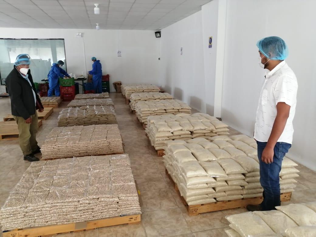 Almacén de alimentos del Gobierno Regional cuenta con certificación ISO