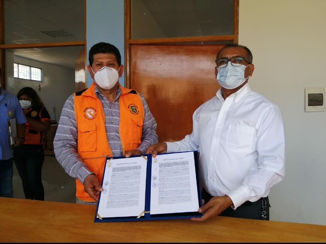 Gobierno Regional entrega 3 hectáreas para la construcción del nuevo cementerio en Canoas de Punta Sal