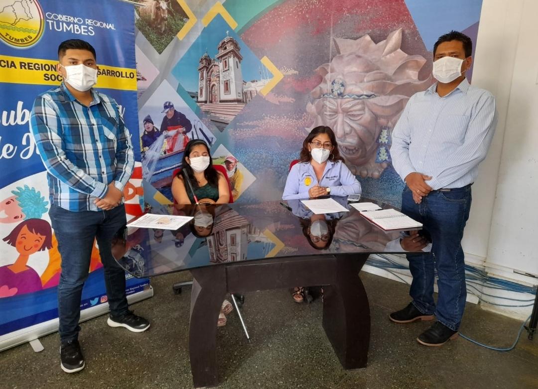 Gobierno regional presenta la Escuela virtual de liderazgo y emprendimiento empresarial juvenil