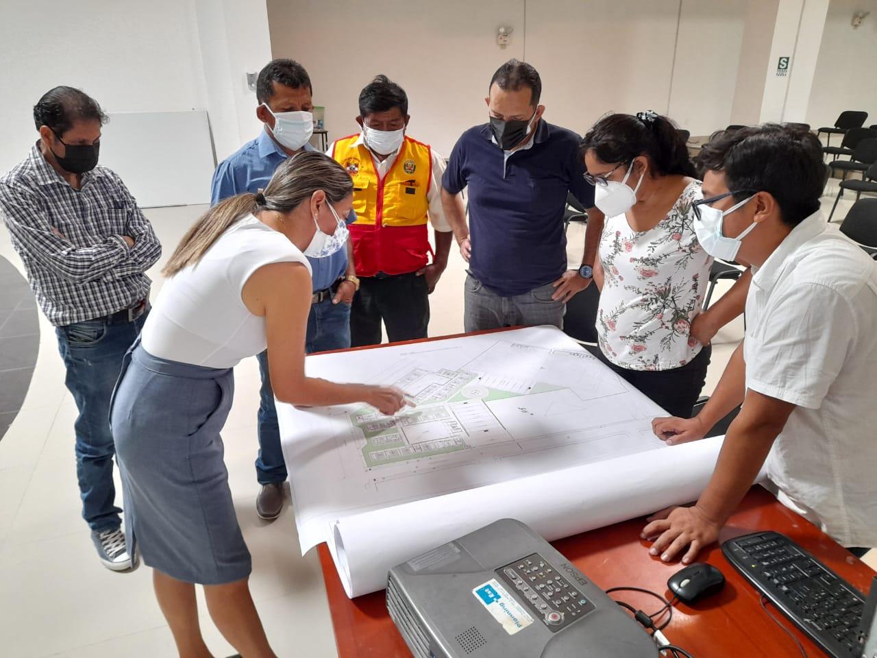 Gobierno regional socializa expediente de la I.E. Efraín Arcaya de Zarumilla