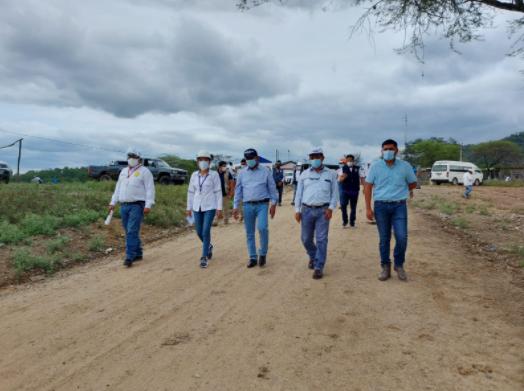 Gobernador regional inaugura mejoramiento de 7 kilómetros de la carretera La Angostura – El Limón