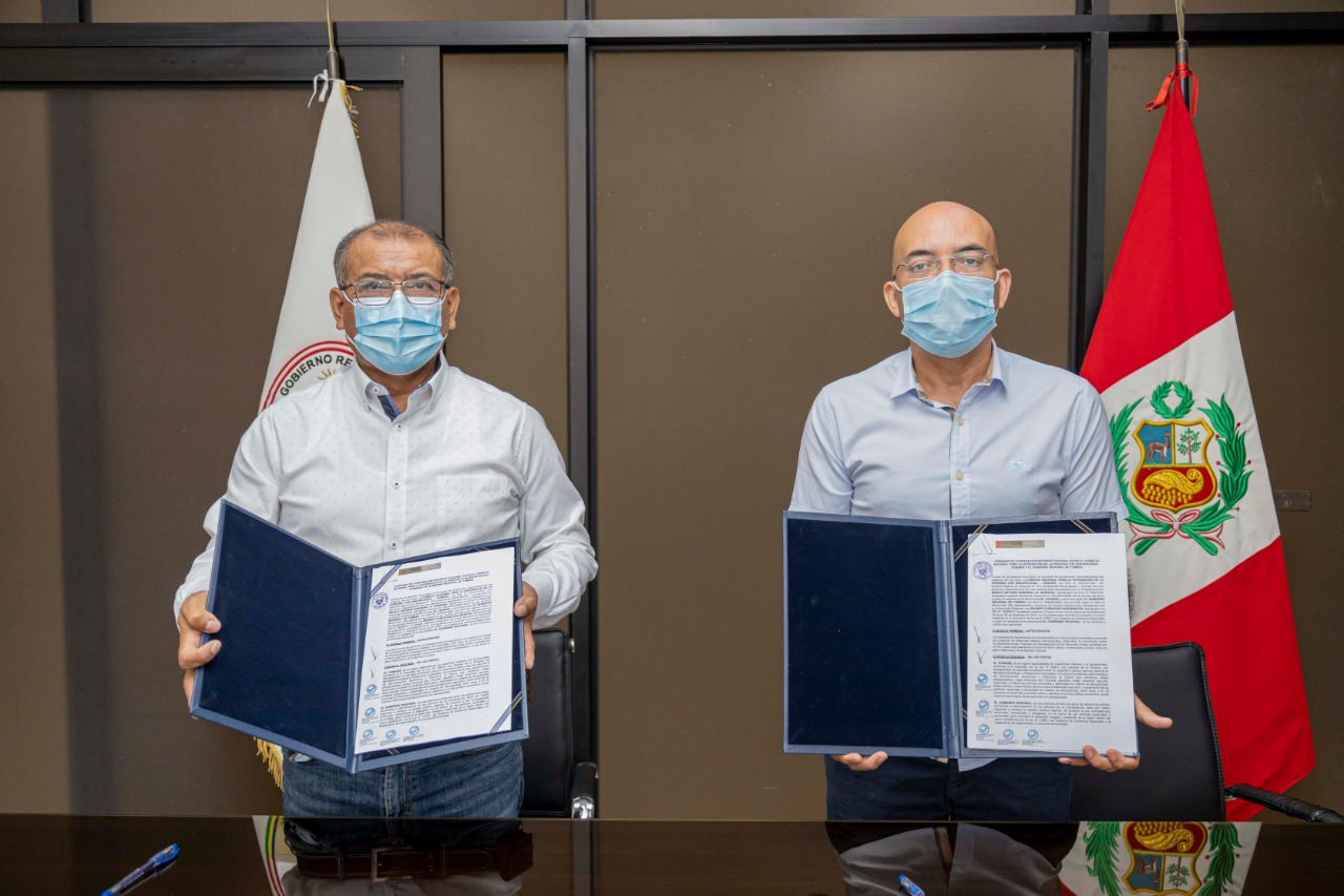 Gobierno regional y CONADIS firman convenio interinstitucional