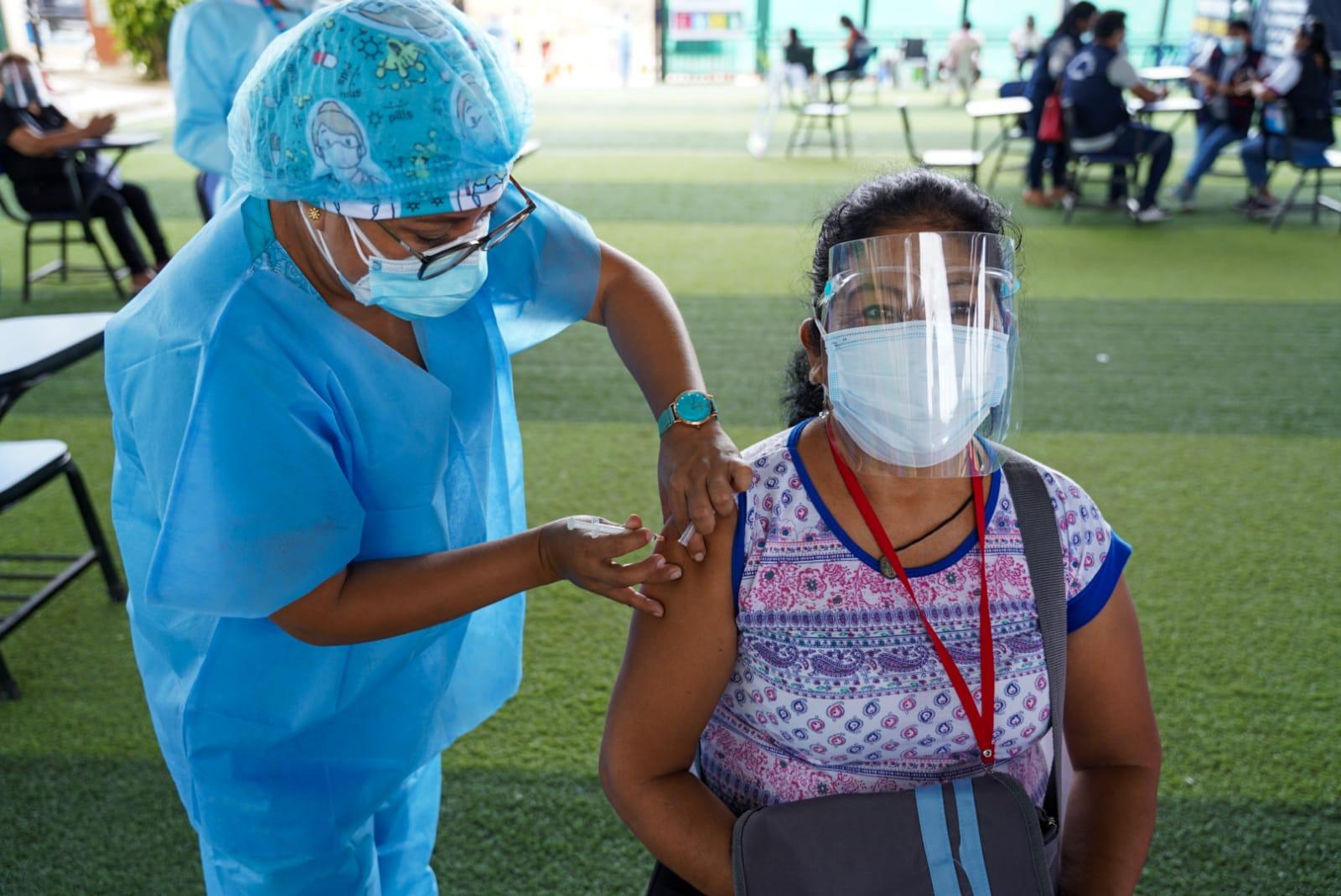 Meta superada. 10164 personas fueron vacunadas en el vacunatón