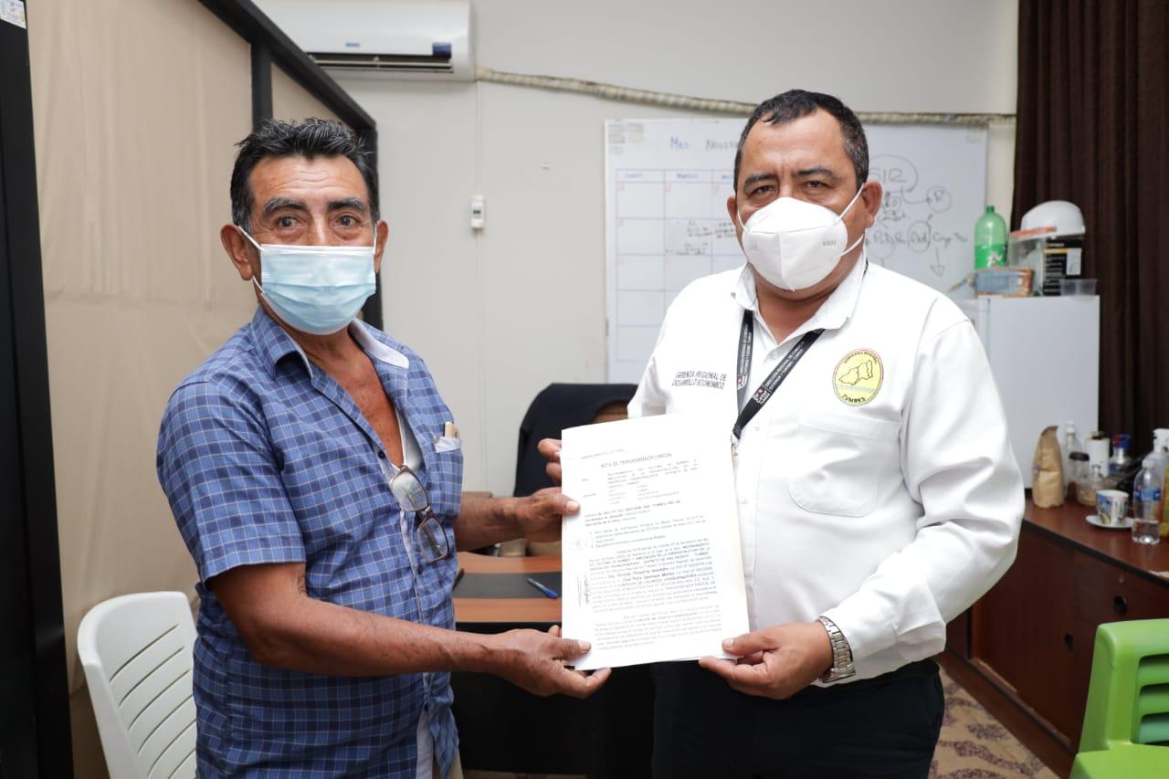240 agricultores se benefician con el mantenimiento de la red aérea de distribución trifásica en media y baja tensión