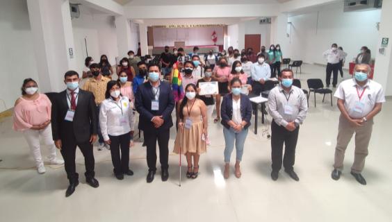 Gobierno regional realiza reconocimiento a 15 organizaciones juveniles