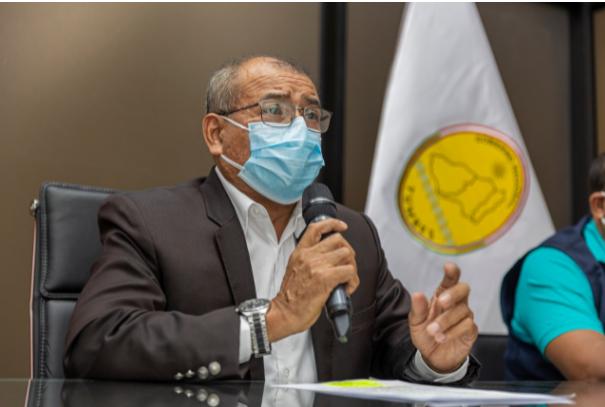 Gobernador regional de Tumbes anuncia inicio de la vacunación a niños y adolescentes de 12 a 17 años