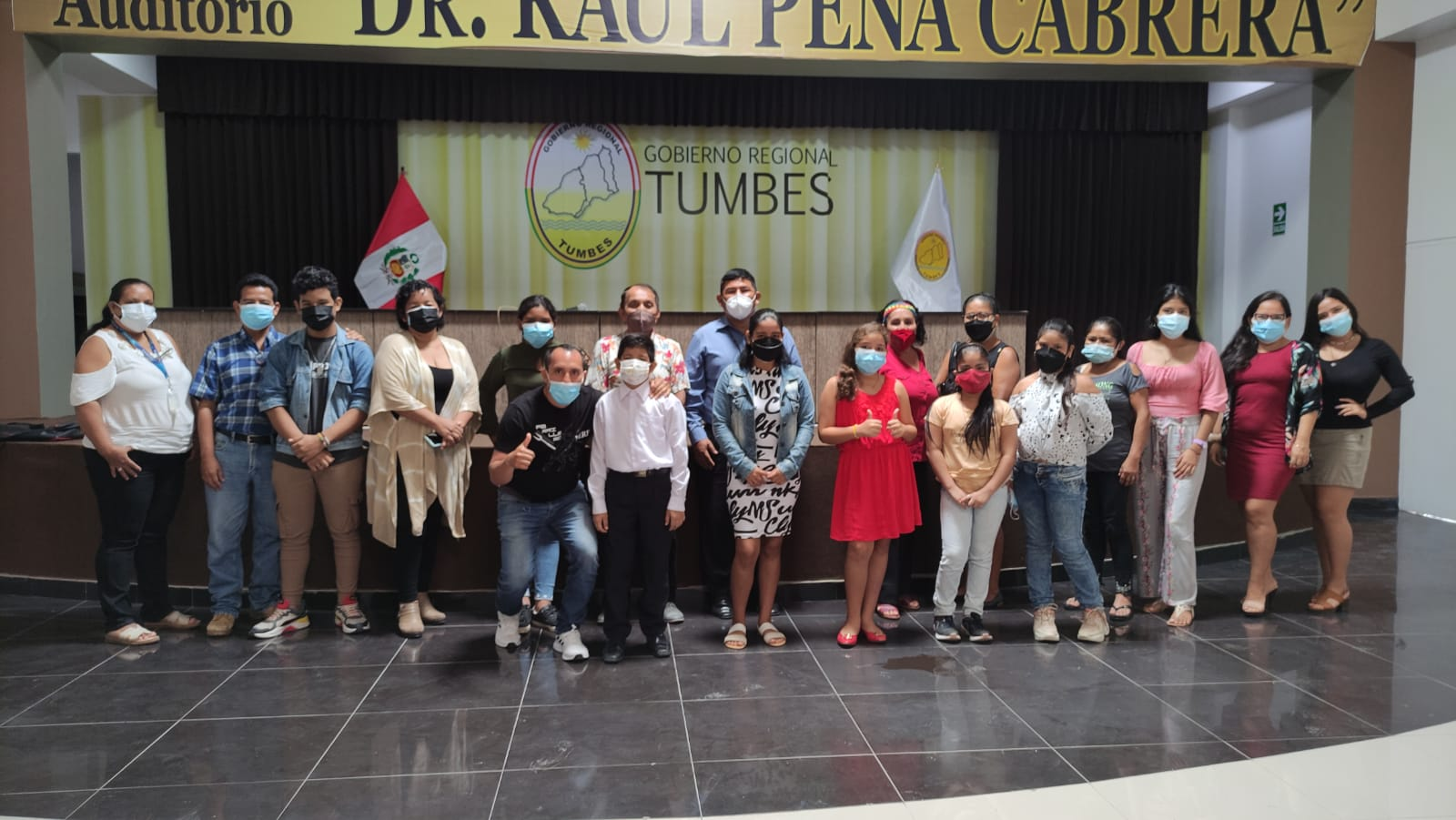 """18 niños participarán del concurso """"La voz Kids"""" que organiza el Gobierno Regional"""