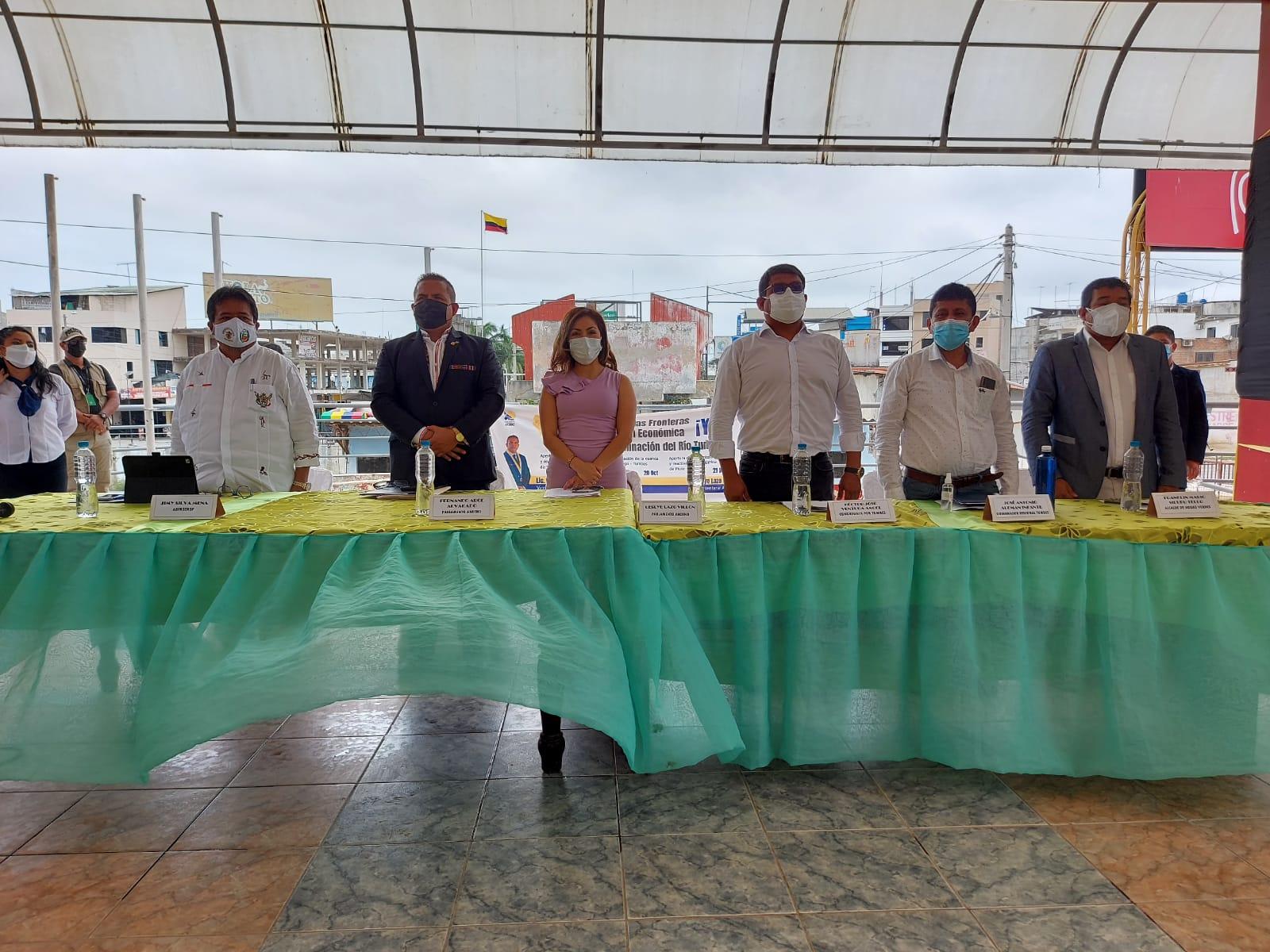 Gobierno Regional suma esfuerzos para reabrir la frontera con Ecuador y así contribuir a la reactivación económica en la zona norte del Perú