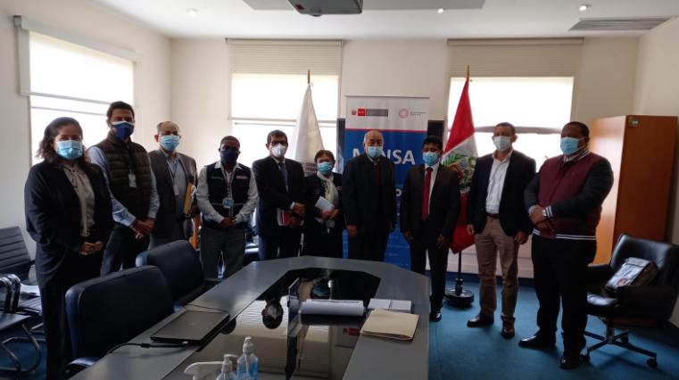 Equipo técnico del Gobierno Regional de Tumbes sostuvo reuniones de trabajo en los ministerios de Salud y Educación